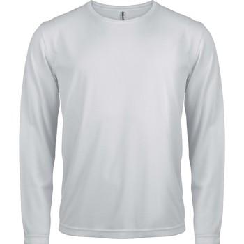 textil Herr Långärmade T-shirts Proact T-Shirt manches longues  Sport blanc blanc