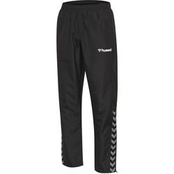 textil Barn Joggingbyxor Hummel Pantalon enfant  hmlAUTHENTIC Micro noir/blanc
