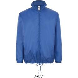 textil Vår/höstjackor Sol's Coupe-vent  Shift bleu royal