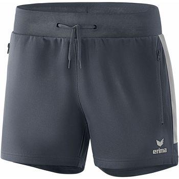 textil Dam Shorts / Bermudas Erima Short femme  Worker Squad gris foncé/argent