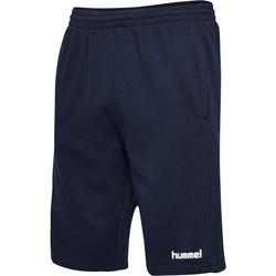 textil Herr Shorts / Bermudas Hummel Short  hmlGO cotton bleu marine