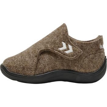 Skor Barn Sneakers Hummel Baskets enfant  wool slipper beige