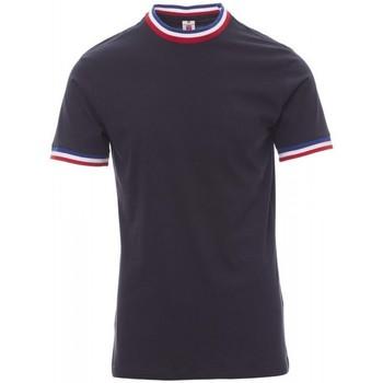 textil Herr T-shirts Payper Wear T-shirt Payper Flag bleu roi/italie