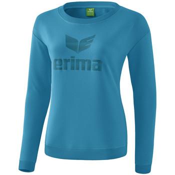 textil Dam Långärmade T-shirts Erima Sweat-shirt femme  Essential bleu clair/bleu