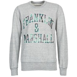 textil Herr Sweatshirts Franklin & Marshall COLFAXO Grå