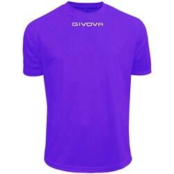 textil Herr T-shirts Givova One Lila