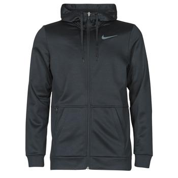 textil Herr Sweatshirts Nike TF HD FZ Svart / Grå
