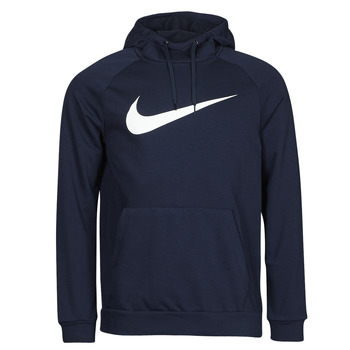 textil Herr Sweatshirts Nike DF HDIE PO SWSH Blå / Vit