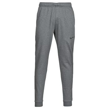 textil Herr Joggingbyxor Nike DF PNT TAPER FL Grå / Svart