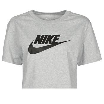 textil Dam T-shirts Nike NSTEE ESSNTL CRP ICN FTR Grå / Svart