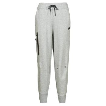 textil Dam Joggingbyxor Nike NSTCH FLC ESSNTL HR PNT Grå / Svart