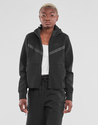 textil Dam Sweatjackets Nike NSTCH FLC WR ESSNTL FZ HDY Svart