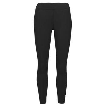 textil Dam Leggings Nike NSESSNTL 7/8 MR LGGNG Svart / Vit
