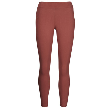 textil Dam Leggings Nike NSESSNTL 7/8 MR LGGNG Brun / Vit