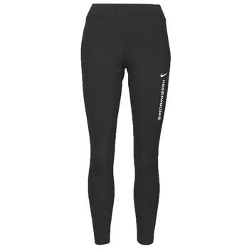 textil Dam Leggings Nike NSSWSH LGGNG HR Svart / Vit