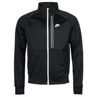 textil Herr Sweatjackets Nike NSTE N98 PK JKT TRIBUTE Svart / Vit