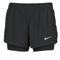 textil Dam Shorts / Bermudas Nike 10K 2IN1 SHORT Svart