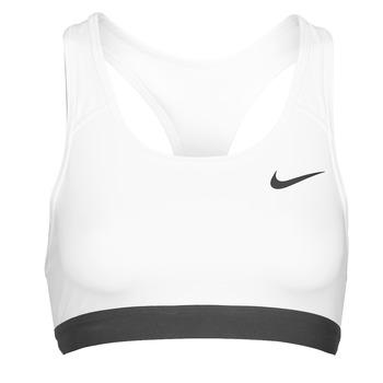 textil Dam Sport-BH Nike DF SWSH BAND NONPDED BRA Vit / Svart