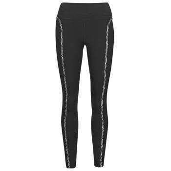 textil Dam Leggings Nike NIKE ONE LUXE ICNCLSH TGT Svart / Violett