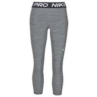 textil Dam Leggings Nike NIKE PRO 365 TIGHT CROP Grå / Vit