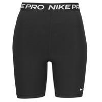 textil Dam Shorts / Bermudas Nike NIKE PRO 365 SHORT 7IN HI RISE Svart / Vit