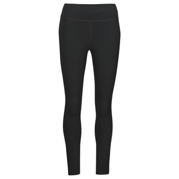textil Dam Leggings Nike ONE DF MR 7/8 TGT Svart / Vit