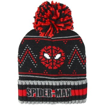 Accessoarer Barn Mössor Spiderman  Svart/röd