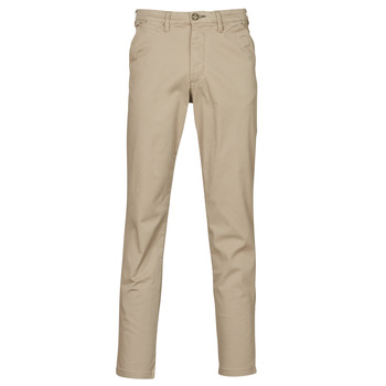 textil Herr Chinos / Carrot jeans Selected SLHSLIM-MILES FLEX Beige