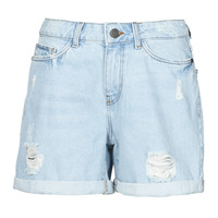 textil Dam Shorts / Bermudas Noisy May NMSMILEY Blå / Ljus