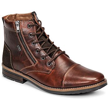Skor Herr Boots Rieker  Brun