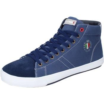 Skor Herr Höga sneakers Armata Di Mare Sneakers BJ84 Blå