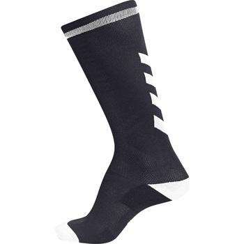 Accessoarer Barn Strumpor Hummel Chaussettes  elite indoor high noir/blanc