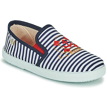 Skor Pojkar Sneakers Citrouille et Compagnie OCILO Marin