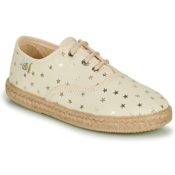 Skor Flickor Sneakers Citrouille et Compagnie OWAZA Guldfärgad