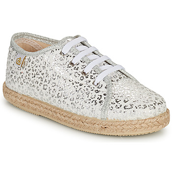 Skor Flickor Sneakers Citrouille et Compagnie OKOKI Silverfärgad