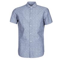textil Herr Kortärmade skjortor Jack & Jones JPRBLASUMMER Blå