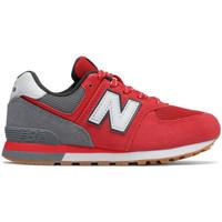 Skor Barn Sneakers New Balance Pc574 m Röd