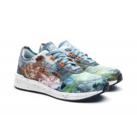 Skor Sneakers Asics Asics HyperGEL-LYTE x Vivienne Westwood  LIGHT STEEL/ORANGE