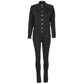 textil Dam Uniform Betty London OPANTS Svart