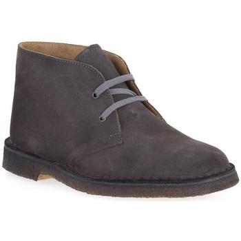 Skor Herr Boots Isle ANTRACITE DESERT BOOT Grigio