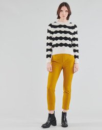 textil Dam Chinos / Carrot jeans Only ONLGLOWING Gul
