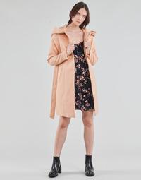 textil Dam Kappor Vero Moda VMCALALYON HOOD 3/4 JACKET GA Rosa