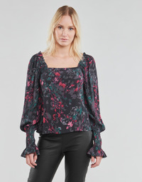 textil Dam Blusar Vero Moda VMJACKIE Marin / Röd
