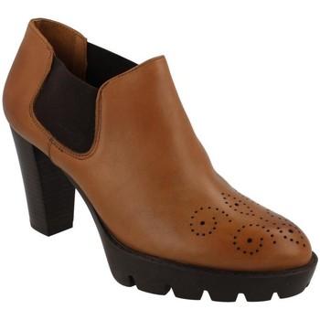 Skor Dam Boots Hobby  Beige