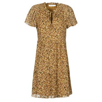 textil Dam Korta klänningar Naf Naf MARIA R1 Kamel