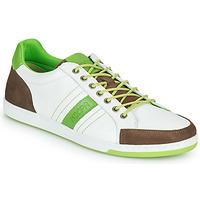 Skor Herr Sneakers Kdopa MARIANO Vit / Grön