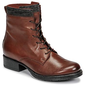 Skor Dam Boots Mjus NORTON Brun