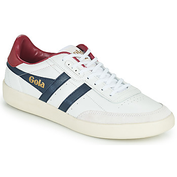 Skor Herr Sneakers Gola INCA LEATHER Vit / Blå / Röd