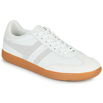Skor Herr Sneakers Gola ACE LEATHER Vit
