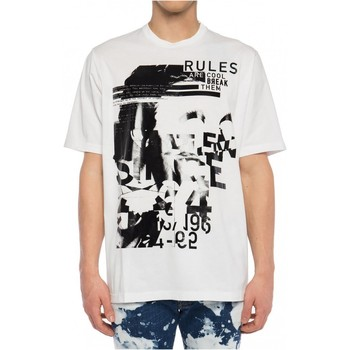 textil Herr T-shirts Dsquared S74GD0530 Vit